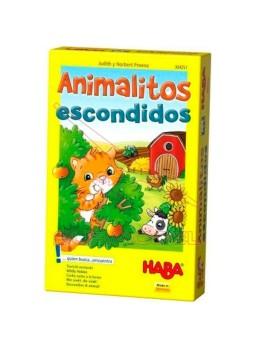 Juego Animalitos escondidos HABA