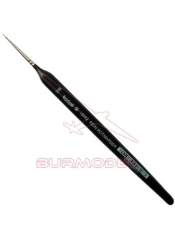 Pincel Marta Roja Triangular 2/0