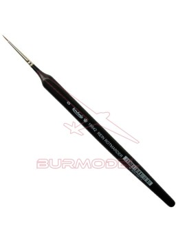 Pincel Marta Roja Triangular 0