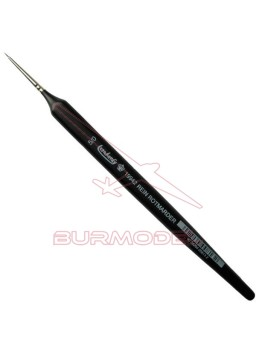 Pincel Marta Roja Triangular 5/0