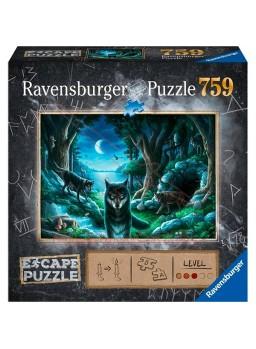 Escape puzzle La manada de lobos 759 piezas