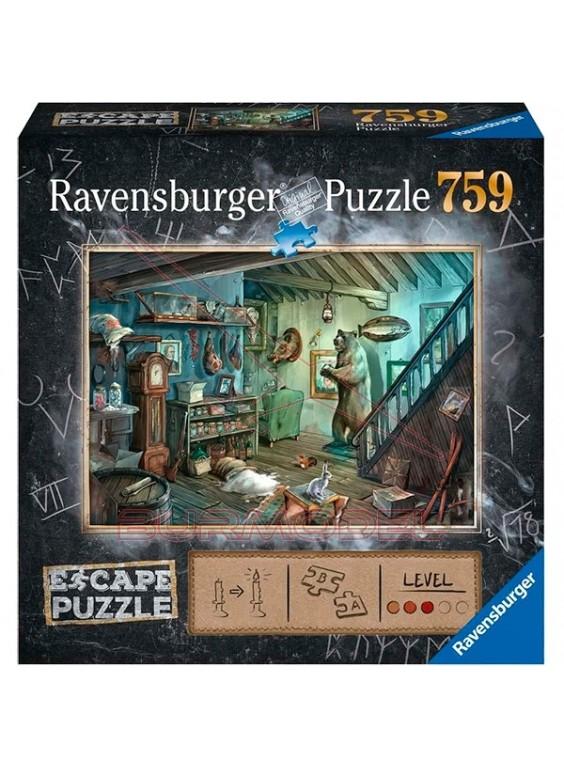 Escape puzzle En la cámara de los horrores 759 pzs