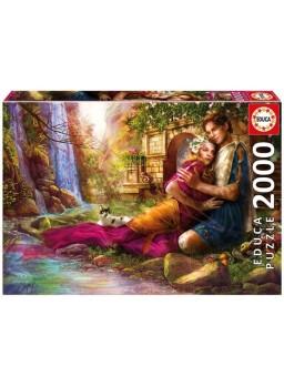 Puzzle 2000 piezas jardin secreto