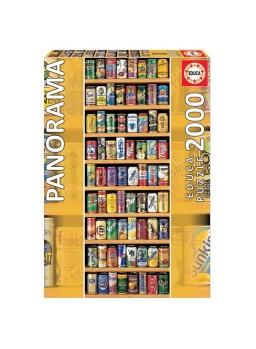 Puzzle 2000 piezas latas