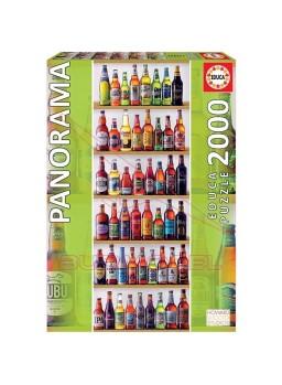 Puzzle 2000 piezas de botellas