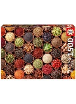 Puzzle 1500 piezas especias y condimentos