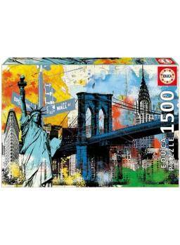 Puzzle 1500 piezas Libertad urbana