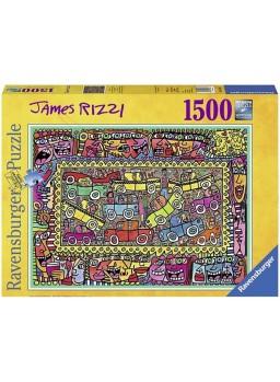 Puzzle 1500 piezas De camino a vuestra fiesta