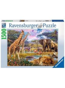 Puzzle África colorida 1500 piezas