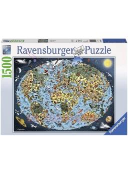 Puzzle 1500 piezas Tierra coloreada