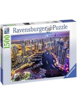 Puzzle 1500 piezas Dubai en el Golfo Pérsico