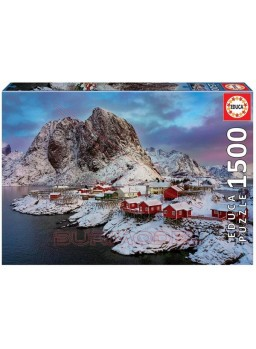 Puzzle 1500 piezas Islas Lofoten Noruega