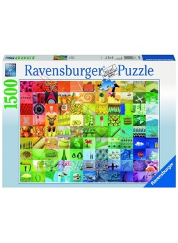 Puzzle 1500 piezas 99 imágenes coloreadas