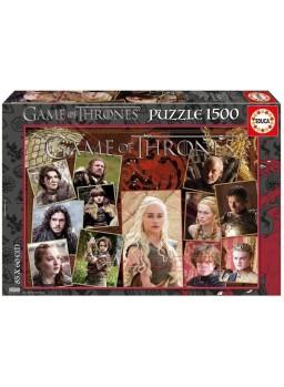 Puzzle 1500 piezas Juego de Tronos