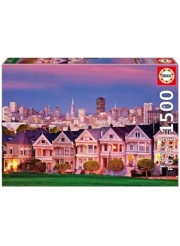 Puzzle 1500 pzs las Damas pintadas San Francisco