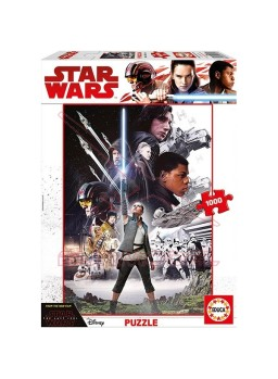 Puzzle 1000 piezas Star Wars The Last Jedi
