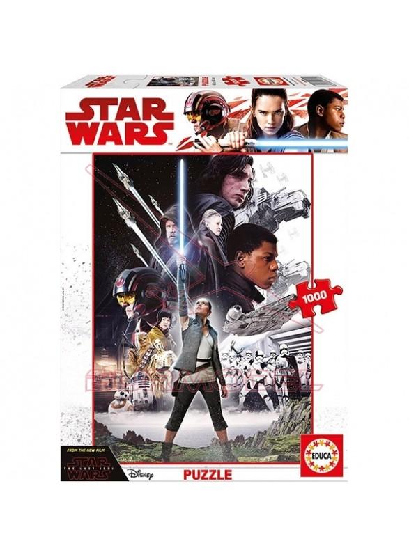 Puzzle 1000 piezas Star Wars The Last Jedi