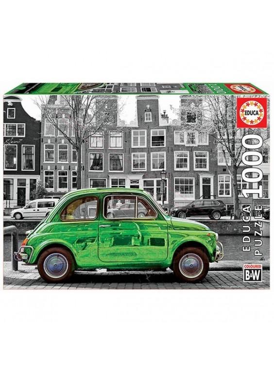 Puzzle de 1000 piezas coche en Amsterdam