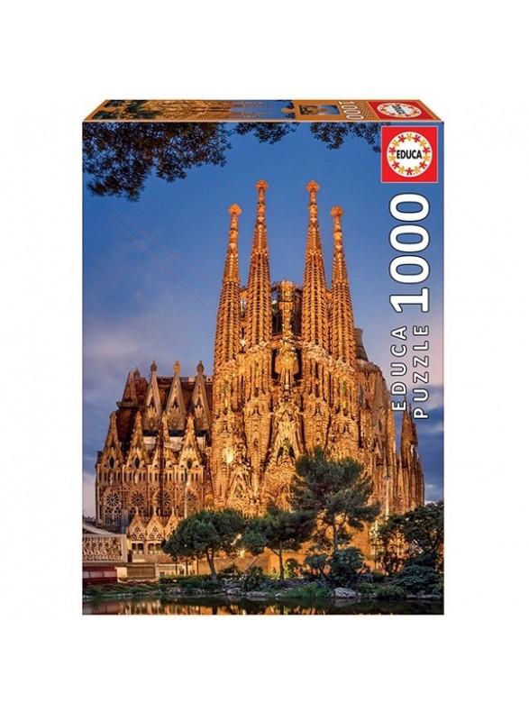 Puzzle 1000 piezas Sagrada Familia