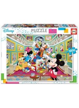 Puzzle 1000 galeria de arte de Mickey