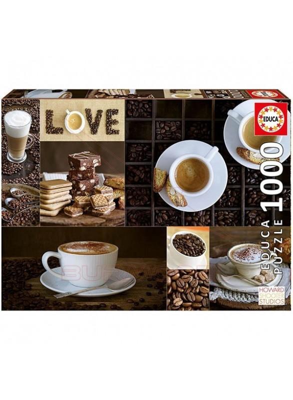 Puzzle 1000 piezas Cafe