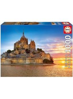Puzzle Mont Saint-Michel Francia 1000 piezas
