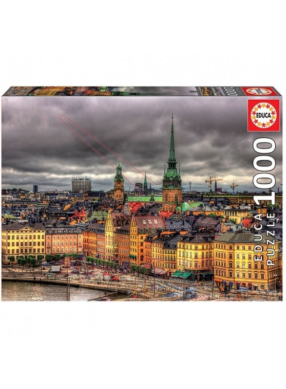 Puzzle visitas de Estocolmo 1000 piezas