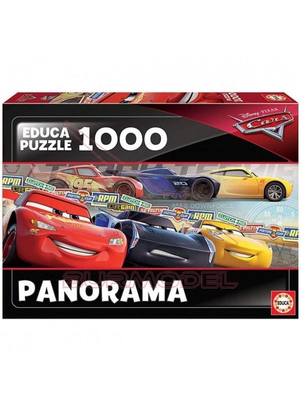 Puzzle de 1000 piezas de Cars.