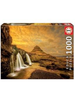 Puzzle 1000 piezas Cascada Kirkjufellsfoss.