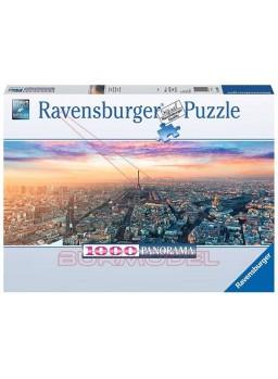 Puzzle París y la luz del amanecer 1000 piezas