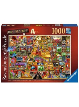 "Puzzle Awesome Alphabet ""A"" 1000 piezas"