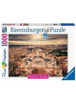 Puzzle 1000 piezas Roma Beatiful Skylines