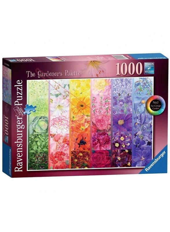 Puzzle Gardener's Palette nº1 1000 piezas