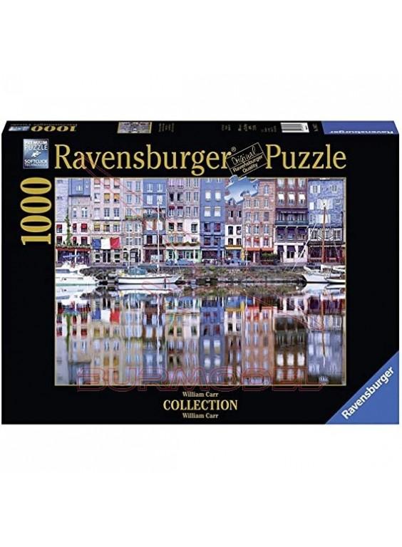 Puzzle Honefleur Reflection 1000 piezas