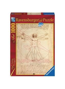 Puzzle Da Vinci: El hombre de Vitruvio 1000 pzs