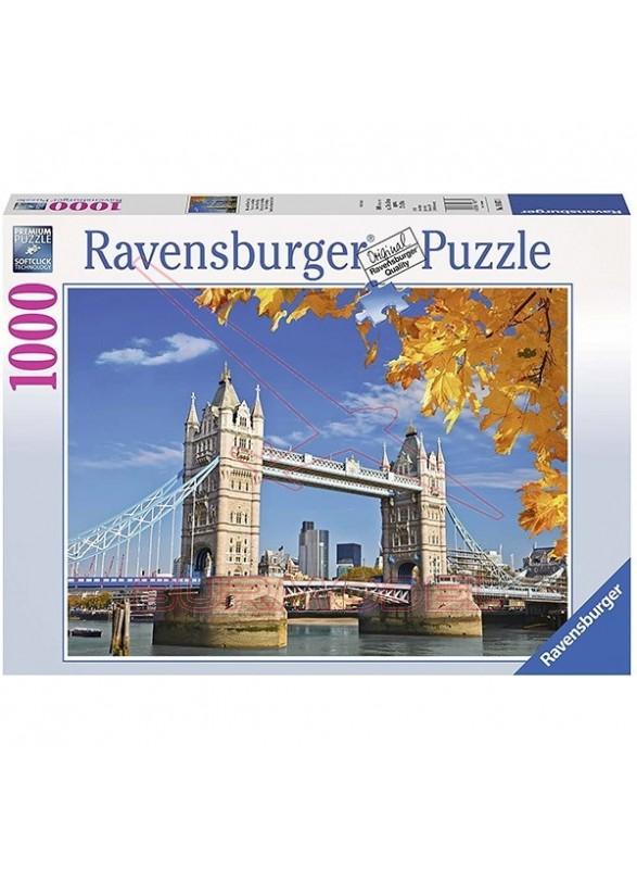 Puzzle vista hacia el puente de Londres 1000piezas
