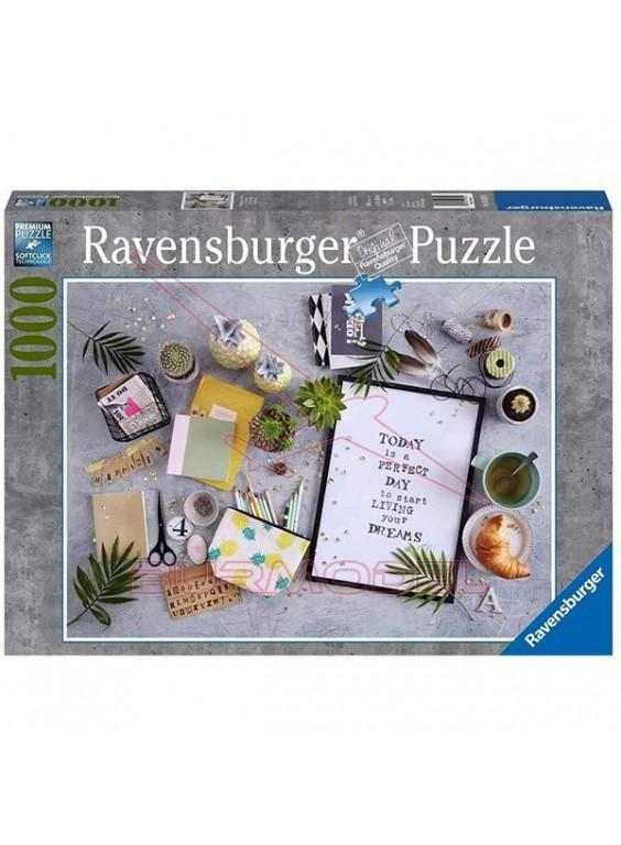 Puzzle 1000 piezas vive tu sueño