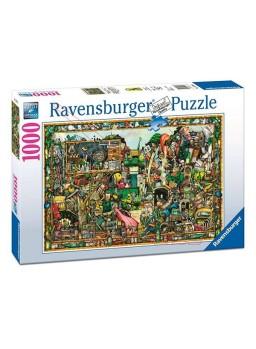 Puzzle 1000 piezas Los tesoros de un tiempo.