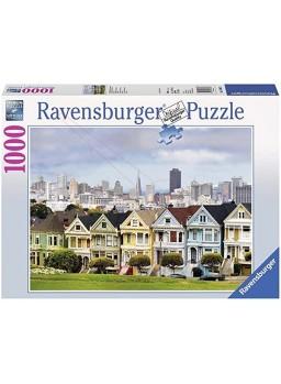 Puzzle Casas victorianas en San Francisco 1000pzs