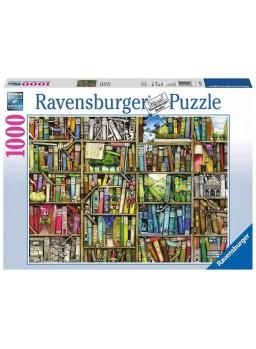 Puzzle 1000 piezas La Librería mágica