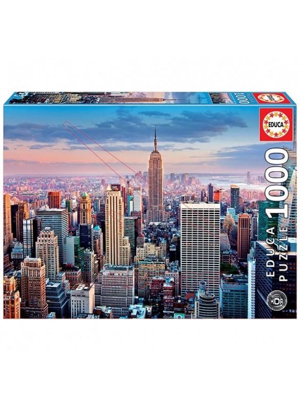 Puzzle 1000 piezas Midtown Manhattan New York HDR