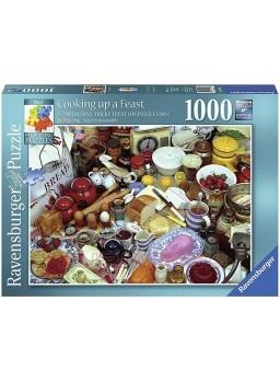Puzzle 1000 Piezas desayuno.