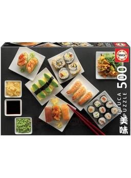 Puzzle 500 Piezas sushi