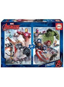 Puzzle 500 piezas Avengers.