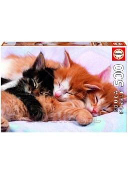 Puzzle gatitos 500 piezas Sweet animals