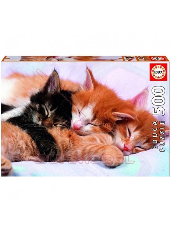 Puzzle gatitos 500 piezas Sweet animals