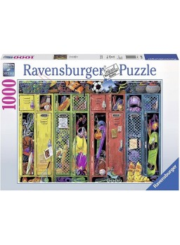 Puzzle The Locker Room 1000 piezas.