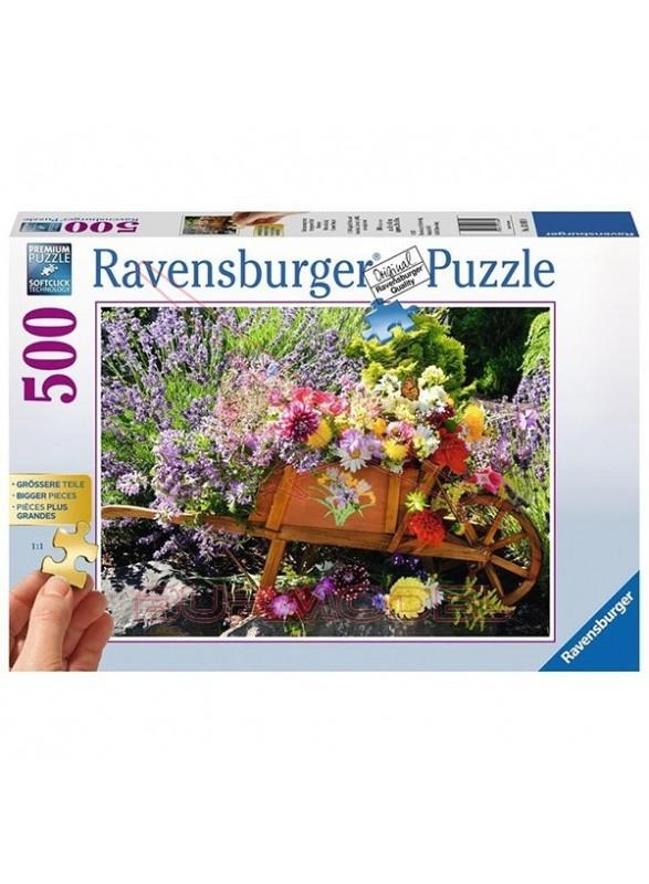 Puzzle Primavera 500 piezas.
