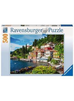 Puzzle 500 piezas Lago de Como de Italia.