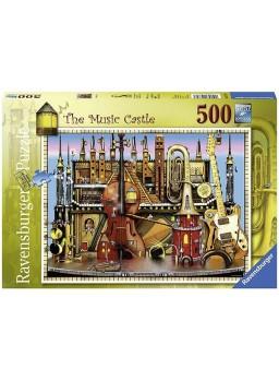 Puzzle 500 Music Castle (ColinThomp).